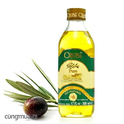 Dầu Olivos Pure (500ml) Thổ Nhĩ Kì, bảo vệ sức khỏe cho bạn
